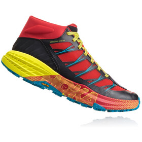 Hoka One One Speedgoat Mid WP Running Shoes Men red/black